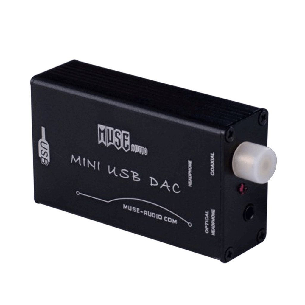 MUSE USB DAC PCM2704 Sound Card Optical Coaxial Decoder USB to S/PDIF Converter: Amazon.es: Electrónica