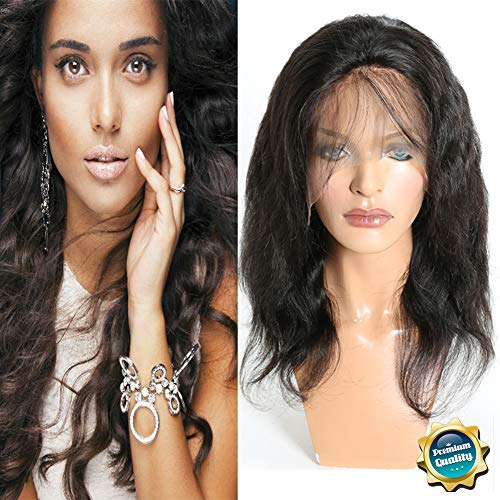 Search : Lace Front Body Wave Wigs for Black Women Re4U Human Hair with Baby Hair African American Wigs (12 Inch, 150% Density)