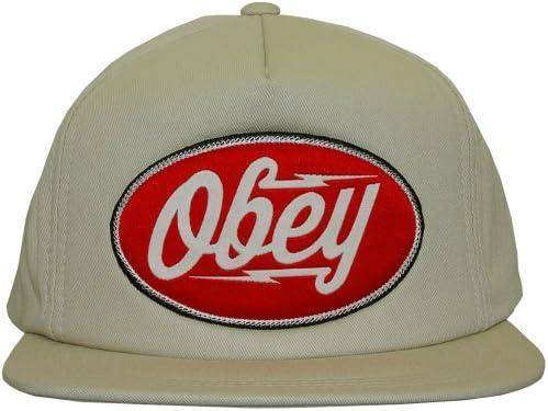 Obey-Gorra con visera plana para hombre 2c576342a69