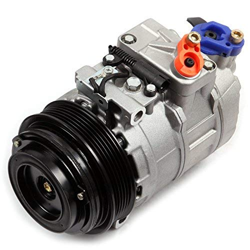 ECCPP A/C Compressor with Clutch fit for 1997-2008 Mercedes Benz Chrysler Dodge Sprinter 2500 CO 105111C Car Air AC Compressors Kit ()