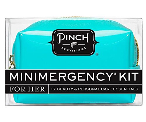 Pinch Provisions Metallic Minimergency Kit For Her, Silver