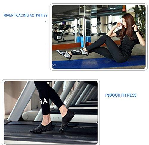 Huaihsu suela blanda Gym Yellow nadar mujer de Zapatos para con caminar Yoga antideslizantes Zapatos para deportivos Zapatos Summer 7qO7nTcrW