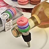 204 Deliciously Different Macaron Design Wine Bottle Stoppers