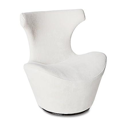 Excellent Amazon Com Zuri Furniture Wedge Modern Swivel Occasional Customarchery Wood Chair Design Ideas Customarcherynet