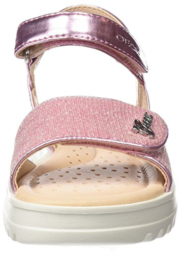 Coralie pink Rose G Geox Fille J Sandales Bout Ouvert 7815qU