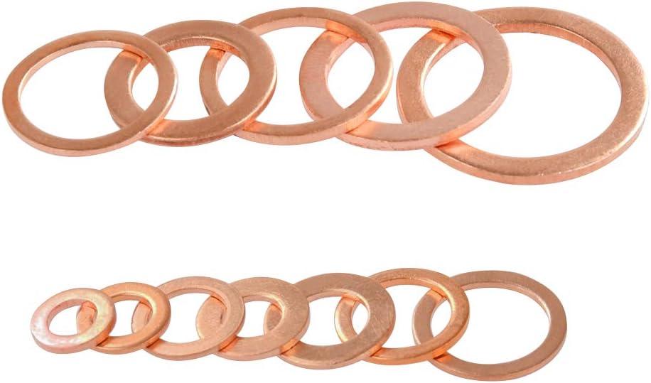 ATPWONZ O-Type Arandela de cobre