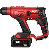 SKIL 20V SDS-plus Rotary Hammer, Includes 2.0Ah Pwrcore 20 Lithium Battery & Charger - RH170202