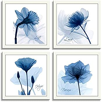 amazoncom hlj arts 4 panels crystal theme giclee