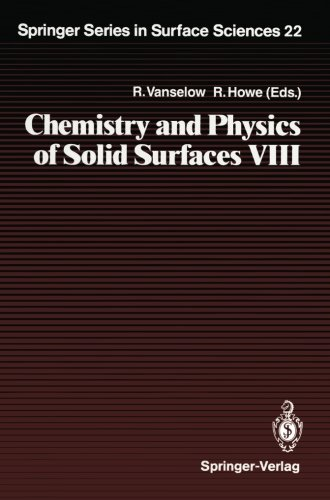 Chemistry and Physics of Solid Surfaces VIII (Springer Series in Surface Sciences)