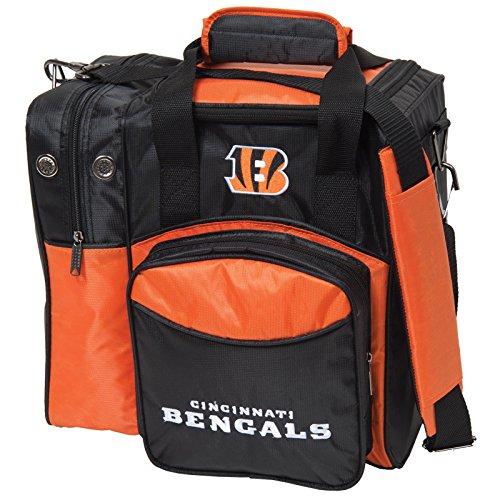 KR Strikeforce Cincinnati Bengals Single Bowling Bag, Multicolor