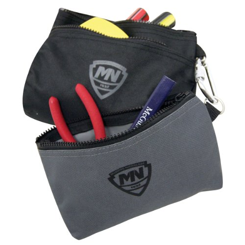 McGuire-Nicholas 32001-P 2 Bags With Snap Hook Carabiner Cli