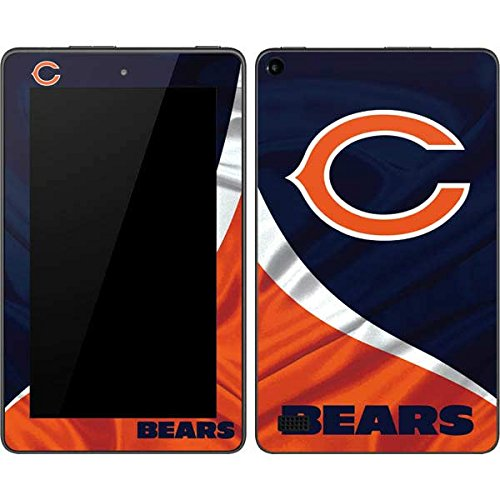(Skinit Chicago Bears Kindle Fire (7in, 2015) Skin - Officially Licensed NFL Tablet Decal - Ultra Thin, Lightweight Vinyl Decal Protection)