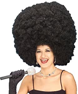Forum Giant Black Fro Wig