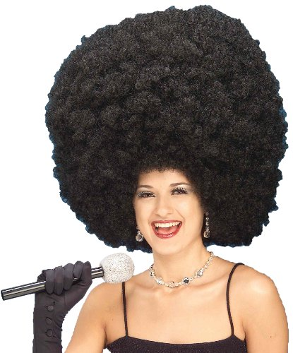 [Forum Giant Black Fro Wig] (Backup Singer Costume)