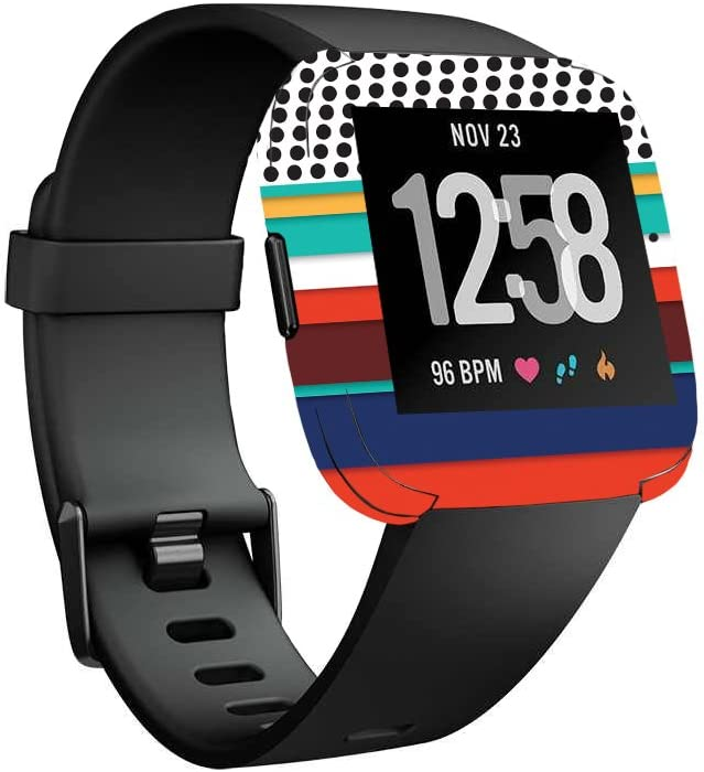 Amazon.com: MightySkins Skin Compatible with Fitbit Versa ...