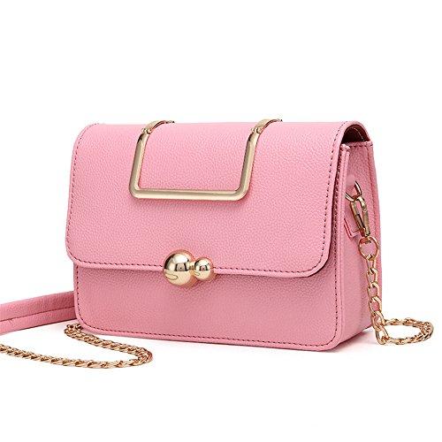 À Chaîne Femmes Bandoulière Sac Main À Meaeo Diagonale Gris Sac Pink Sac Mode Sauvage qU6Zw