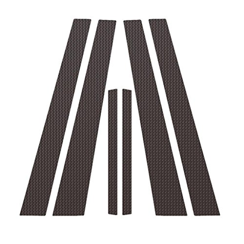 Ferreus Industries Carbon Fiber Pillar Post Trim Cover fits: 2002-2006 Nissan Altima 4 Door Sedan PIL-012-CF