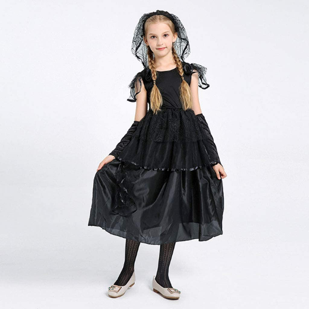 Vestido De Novia De Halloween,Niño Zombie Novia Disfraz De ...