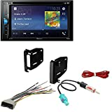 Cheap Pioneer Double 2 Din AVH-200EX DVD/MP3/CD Player 6.2″ Touchscreen Bluetooth Scosche CR1291B Double DIN Install Dash Kit for Select 07-up Chrysler/Dodge/Jeep