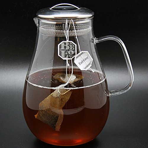Christina Home Designs Glass Pitcher | 64 oz Iced Tea Pitcher with Lid Water Pitcher Carafe with Handle Drink Pitcher Made of Borosilicate Glass Ideal for Party, Bridal Shower, Birthday, Everyday Use by Christina Home Designs (Image #6)