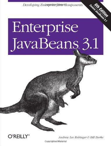 Enterprise Javabeans 3 1  Developing Enterprise Java Components