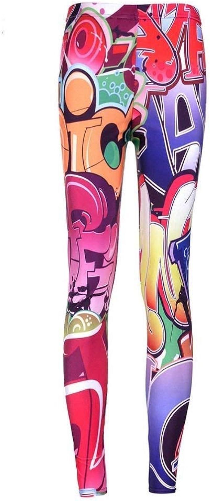 Femmes Extensible Leggings imprimés Casual Skinny Leggings Slim crayon pantalon