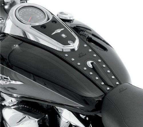 Mustang Studded Tank Bib for Yamaha 1999-2012 Road Star models - One Size