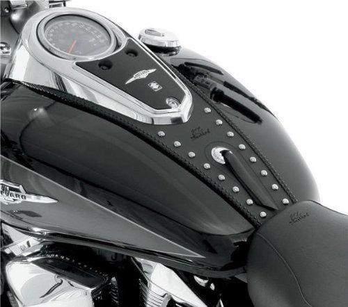 Mustang Motorcycle Seats Studded Tank Bib ()