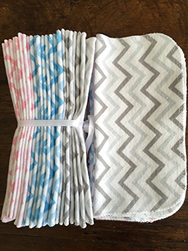 Cloth Baby Wipes Starter Kit. Set of 3 Dozen Wipes. Reusable Cloth Wipes. Baby Shower Gift. Eco Friendly. Reusable Cloth Napkins. 100% Cotton Flannel. Reusable Dryer Sheets. by As You Stitch