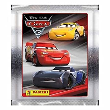 10x panini disney pixar cars 3 collection sticker pack 10 sealed packs