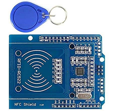 RC522 RF módulo Sensor IC tarjeta lector + S50 NFC/RFID ...