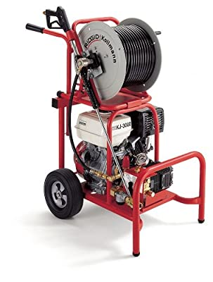 Model KJ-3000 Water Jetters - kj3000 w/h-38 hose/reel