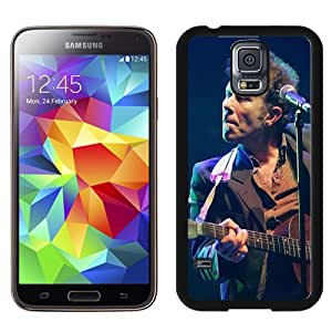 Beautiful Designed Cover Case With Tom Waits Guitar Show Microphone Light For Samsung Galaxy S5 I9600 G900a G900v G900p G900t G900w Phone Case