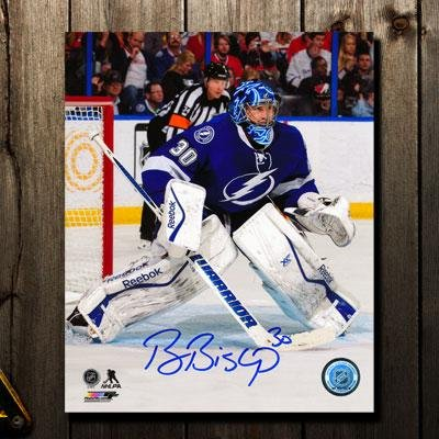 Autographed Ben Bishop Picture - 8x10 - Autographed NHL Photos at ... 5258f040a