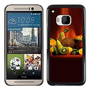 LECELL -- Funda protectora / Cubierta / Piel For HTC One M9 -- Fruit Macro Fruit Art --