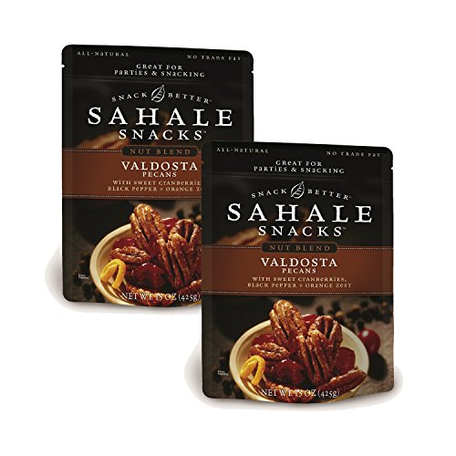 Sahale Snacks Valdosta Pecans Glazed Mix, 15 Ounce (Pack of 2) by Sahale Snacks