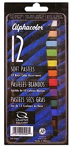 Alphacolor Soft Pastel Sets (Basic Assorted Colors) - Set of 12 2 pcs sku# 1837803MA