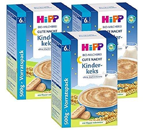 Hipp Kinderkeks buenas noches avena - a partir de 6 meses, 500 g, 3