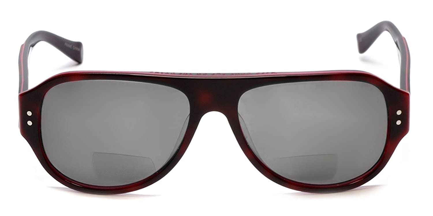 8285ae985a Amazon.com  Lucky Brand Backbeat Polarized Bi-Focal Reading Sunglasses in  Tortoise-Pink +1.00  Clothing