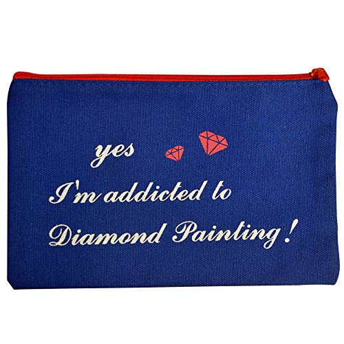 Diamond Painting Tools Bag, Diamond Painting Accessories Bag to Keep Tools Together Perfect Gift for Diamond Painting Lover Specialty Design for Painting with Diamonds Kit for Adults