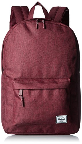 Herschel Supply Co. Classic Mid-Volume Backpack, Winetasting Crosshatch