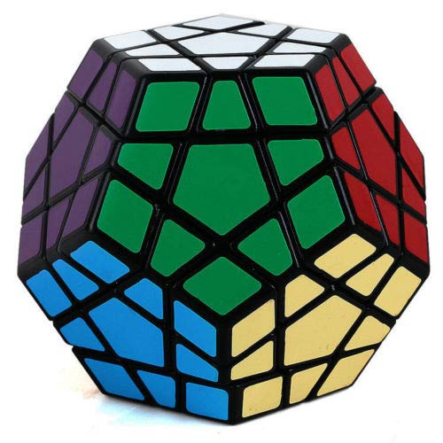 Z 12 Sides 3x3 Megaminx Speed Magic Cube Smooth Twist Puzzle Rubik's Toy Game Play from Z