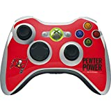 xbox 360 controller cover nfl - Skinit NFL Tampa Bay Buccaneers Xbox 360 Wireless Controller Skin - Tampa Bay Buccaneers Team Motto Design - Ultra Thin, Lightweight Vinyl Decal Protection