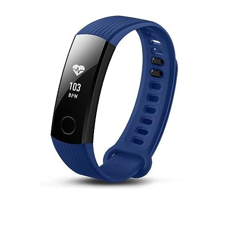 para Huawei Honor 3 Fitness Reloj de Pulsera de Banda con pulsómetro Resistente al Agua IP67