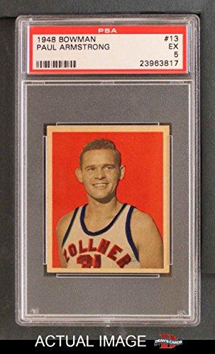 1948-Bowman-13-Paul-Armstrong-Detroit-Pistons-Basketball-Card-PSA-5-EX