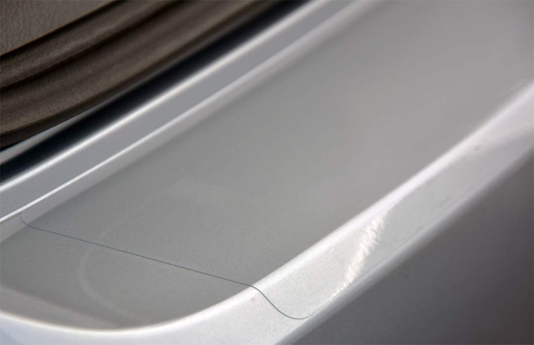 2111-106 WGS Ladekantenschutz Sto/ßstangenschutz Lackschutzfolie Schutzfolie Lackschutz Transparent 240/µm