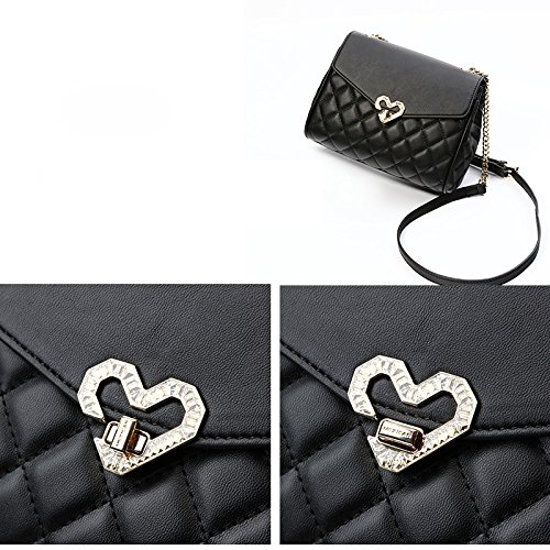 Black Lingge Bag Chain Joker Shoulder One Europe Messenger New Bag 5 2018 10 5CM 23 Women's 16 amp; Fashion America Bag 7SROS