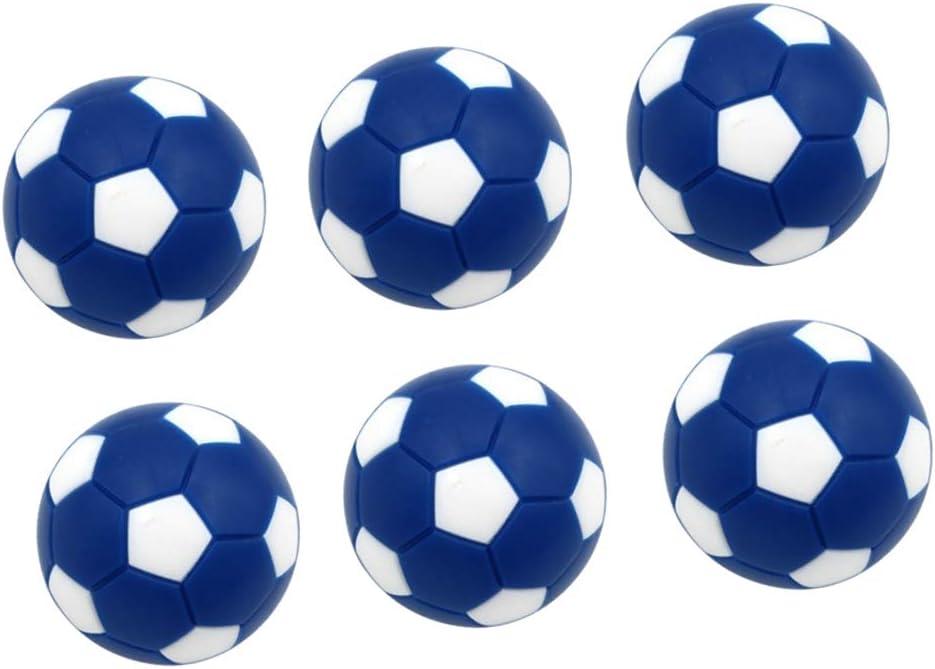 Toygogo 6 Unids Pelotas para Futbolín,32mm, Azul: Amazon.es ...