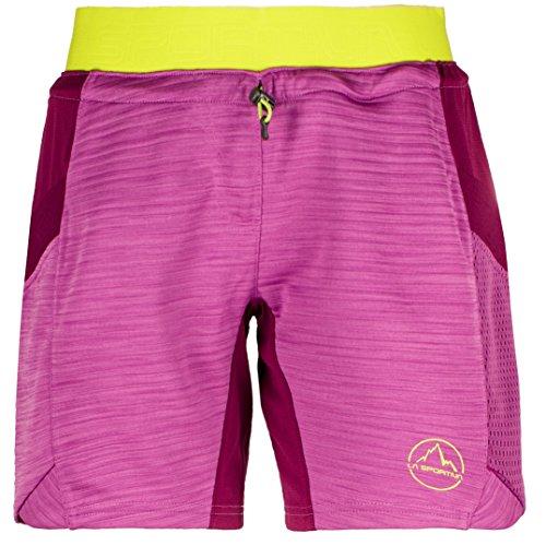 La Sportiva - Pantalón Corto de Circuito para Mujer, púrpura, Ciruela (Purple/Plum), Large