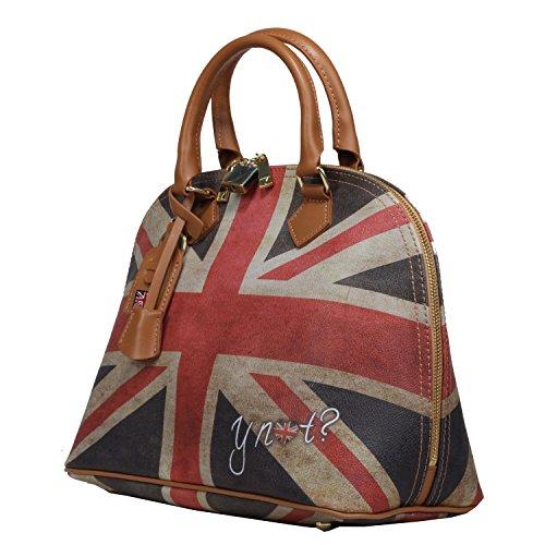 YNot? Flags Shopper klein Damenhandtasche Tasche mit Motiv englischer Flagge